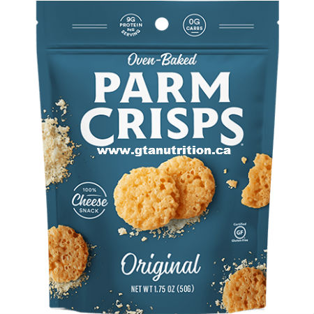 Kitchen Table Bakers Oven Baked ParmCrisps Original 49g. Made From 100% Cheese. No Artificial Flavors, Colors or Preservatives.