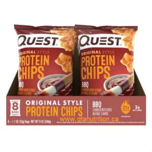 Quest Protein Chips-BBQ. Baked Never Fried, Soy Free, Gluten Free
