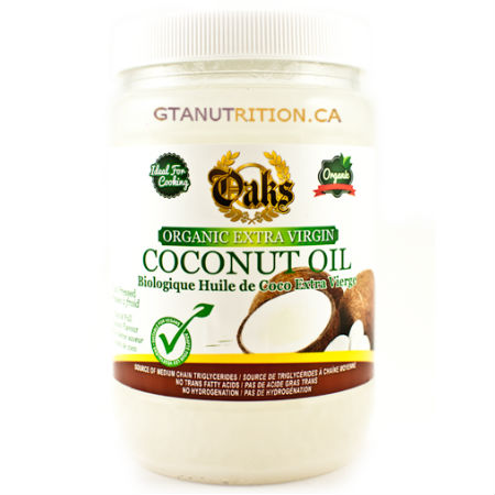 "Oaks Extra Virgin Organic Coconut Oil 28oz. Not all saturated fat is bad! Coconut oil is cholesterol and trans fat free and rich in medium-chain ""good fats. Ideal Cooking oil for Keto Diet. Kosher"