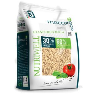 Nutriwell Ciao Carb Pasta Rice 500g. Lower Carb, High Protein, High Fiber