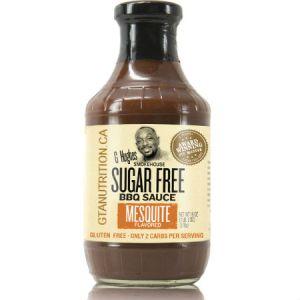 G Hughes Sugar Free BBQ Sauce Mesquite 510g. Sugar free, Gluten-free.