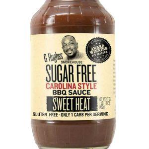 G Hughes Sugar Free Carolina Style BBQ Sauce Sweet Heat