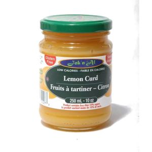 Jok-N-Al Fruit Spread Lemon l Gluten Free