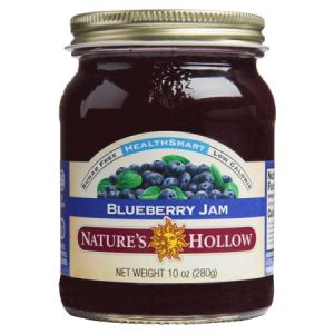 Nature's Hollow Sugar Free Blueberry Jam 10oz