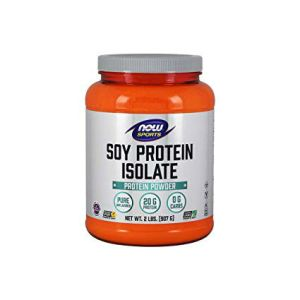 Now Sports Soy Protein Natural Unflavored 2lbs . High Protein, Low carb, Non GMO, Vegetarian, No Soy, No Dairy, Keto Friendly, Vegan, KosherPeas are well...