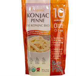 Konjac is a low calorie, high fibre root vegetable that has been eaten in Japan for centuries