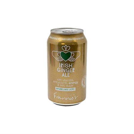 Frannie's Sparkling Beverage Calorie and Sugar free 355ml