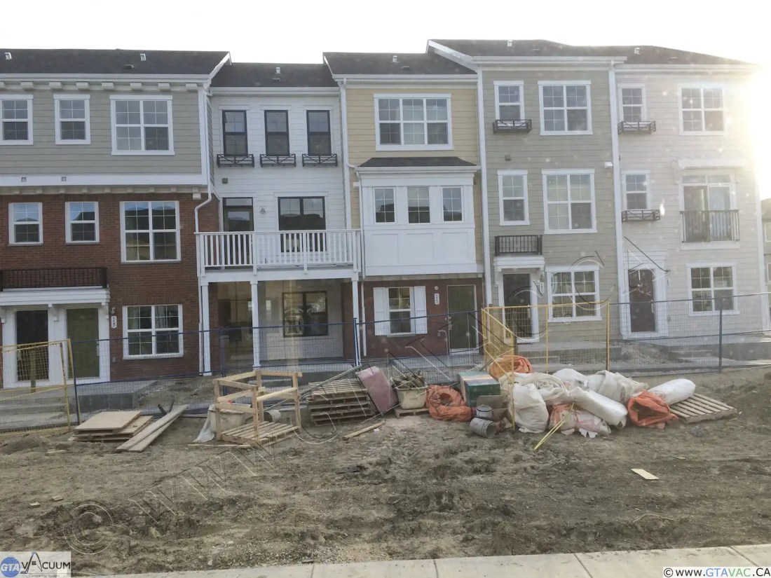 Central Vac New Construction Town Homes NW Caglary AB After 1 1