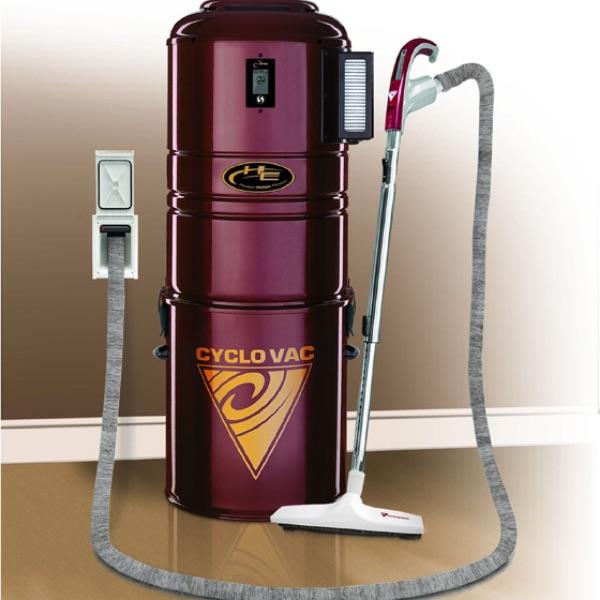 CycloVac Central Vacuum & Retraflex