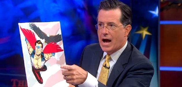 Colbert announces new captain America