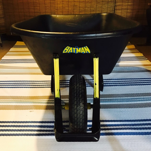 Even Batman needs a Wheelbarrow