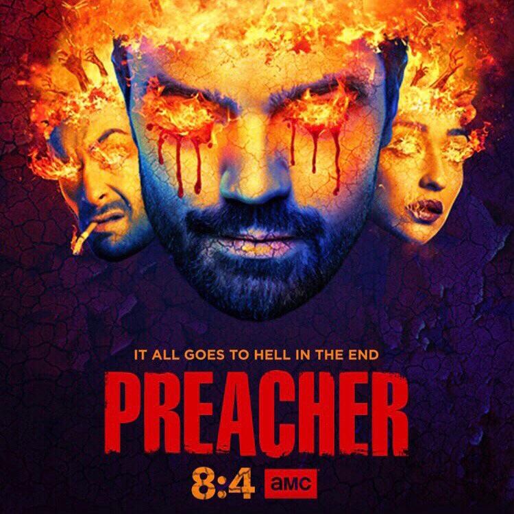 Steaming Preacher on AMC