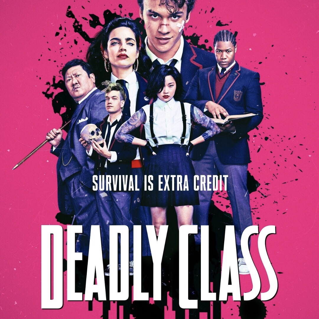 Streaming Comic Book TV Deadly Class