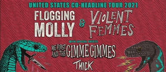 Violent Femmes Flogging Molly Tour 2021