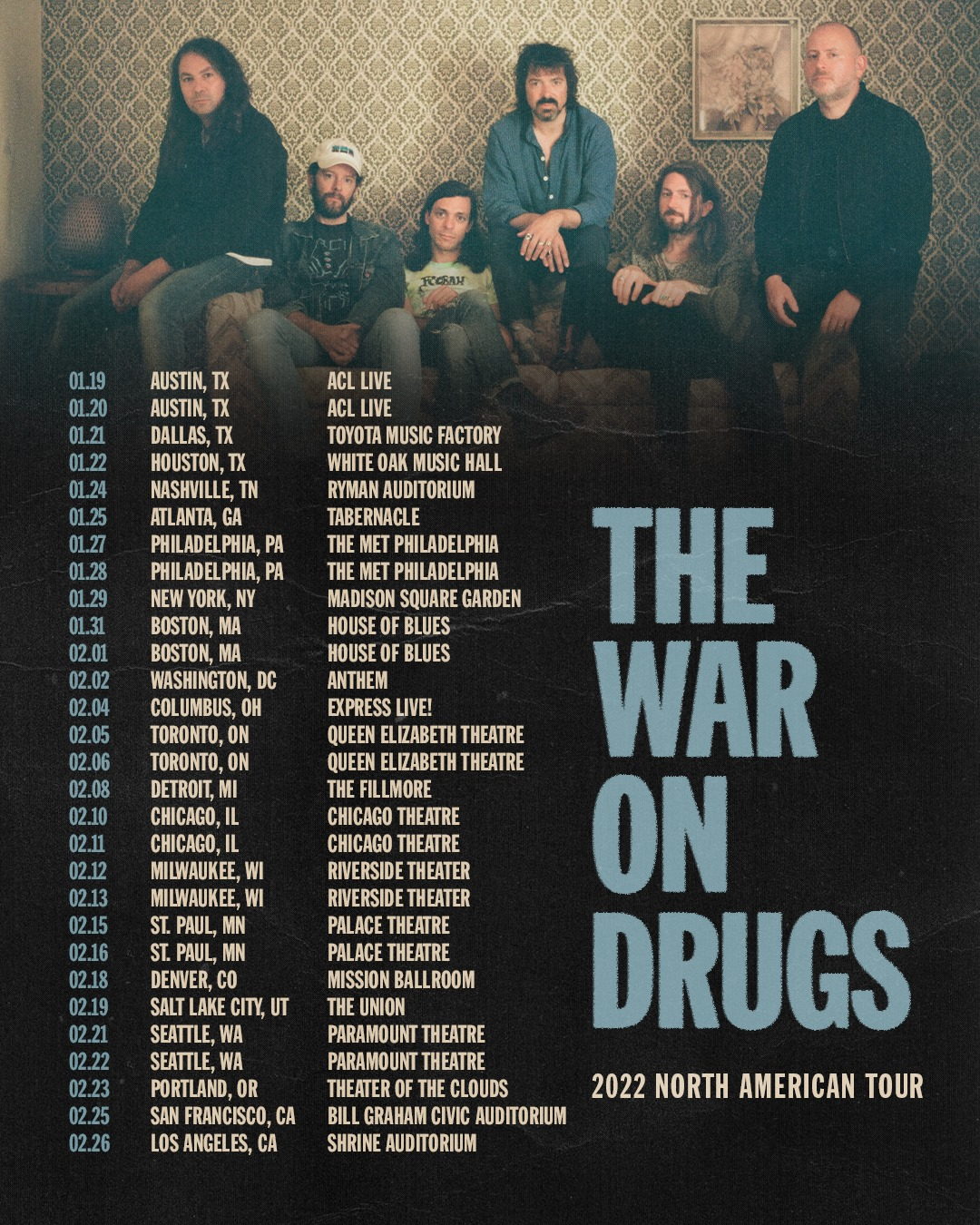The War Drugs 2022 Tour