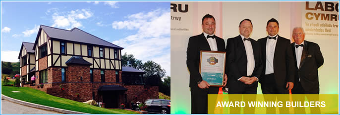 Award winning builders in Wales
