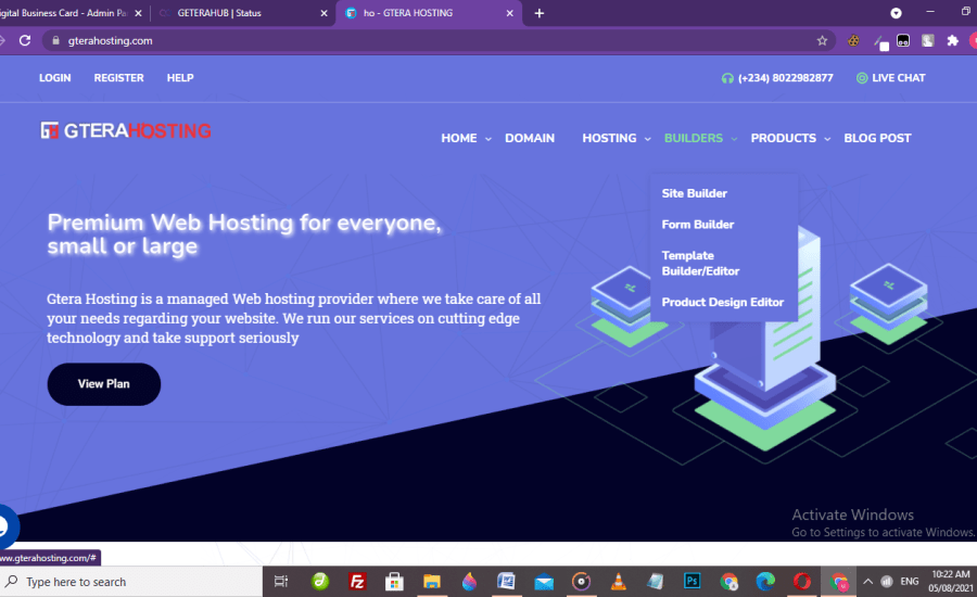 Digital Business Card with Gterahosting – Step By Step Guide.