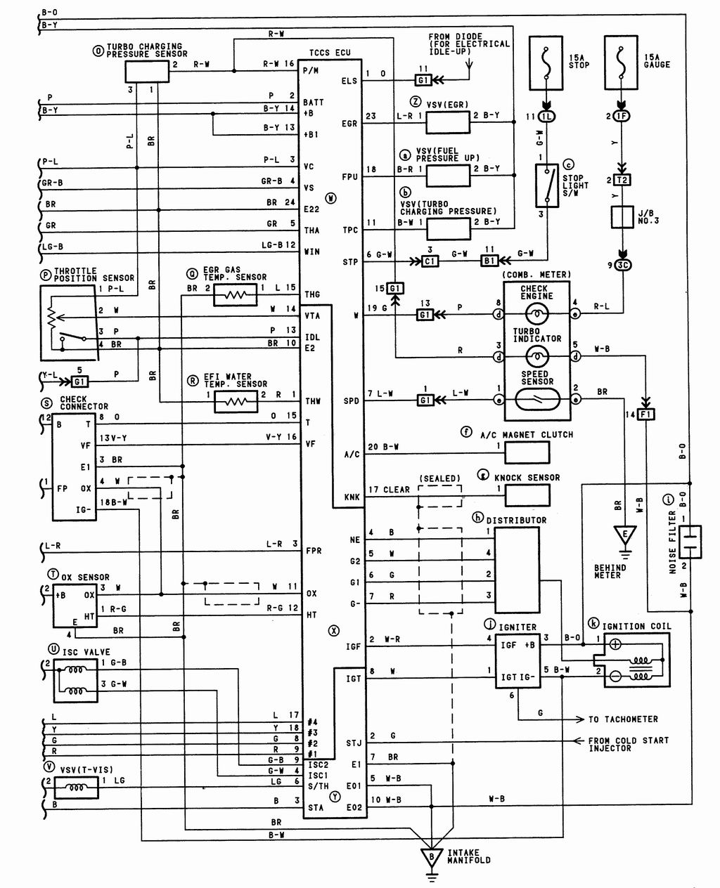 Tacoma Ecu Wiring Diagram