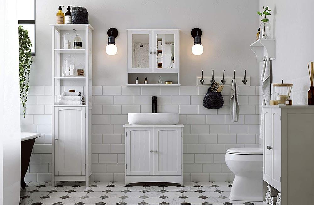 meuble salle de bain pas cher