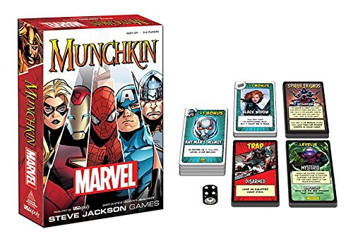 Games, Toys & more Munchkin Marvel Kartenspiel Linz