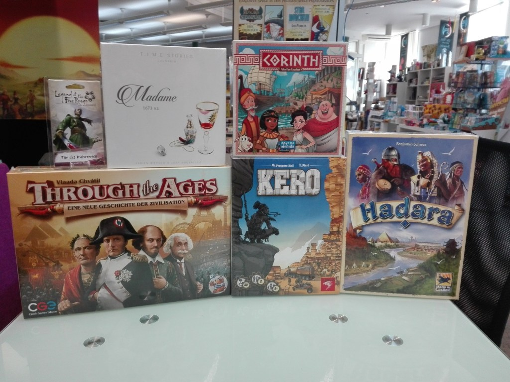 Games, Toys & more Time Stories Madame Brettspiele Linz