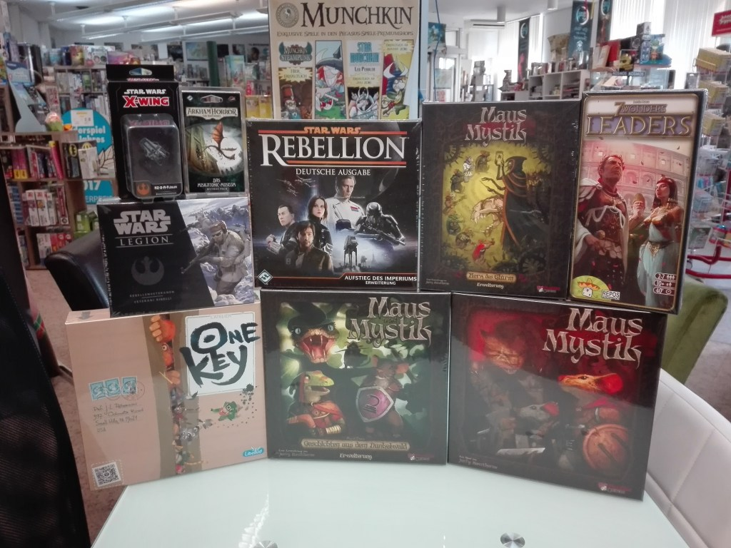Games, Toys & more One Key Brettspiele Linz