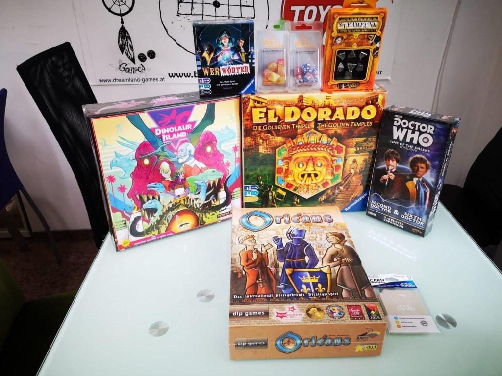 Games, Toys & more Dinasaur Island Feuerland Spiele Linz