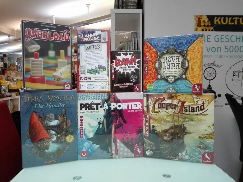 Games, Toys & more Cooper Island Pegasus Spiele Linz