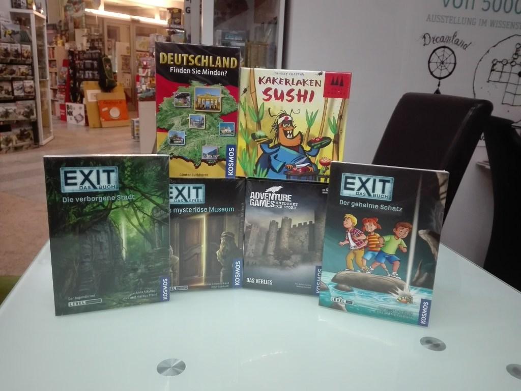 Games, Toys & more Exit Rätselbücher Linz