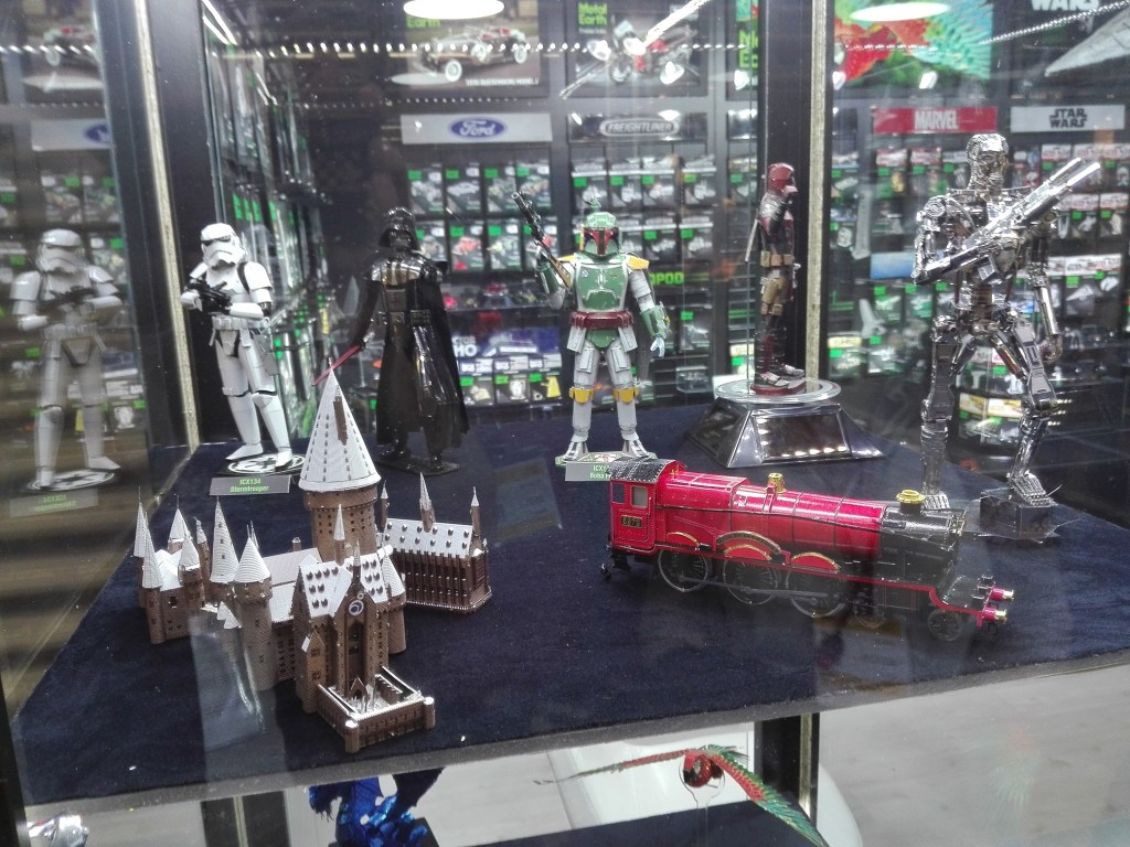 Games, Toys & more auf der Spielwarenmesse in Nürnberg 2020 Metal Earth Neuheiten
