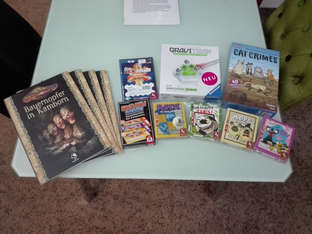 Games, Toys & more Bauernopfer in Kamborn Cthulhu Rollenspiel Linz