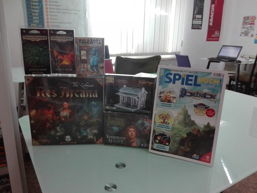 Games, Toys & more Res Arcana Linz