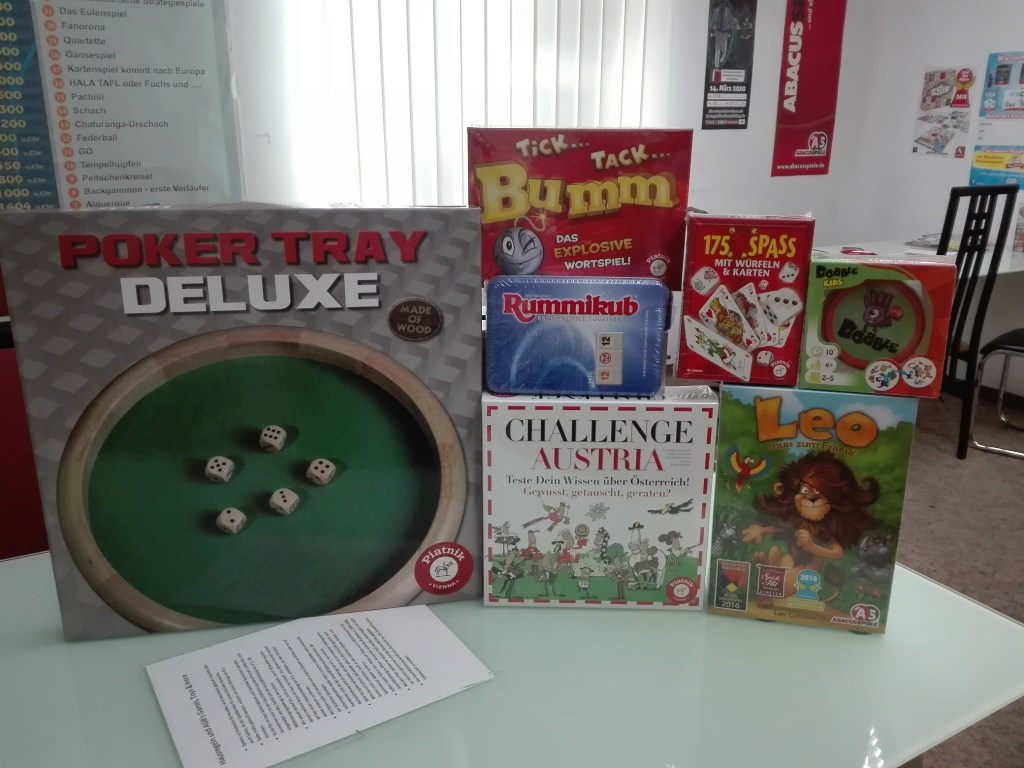 Games, Toys & more Würfelbrett Linz