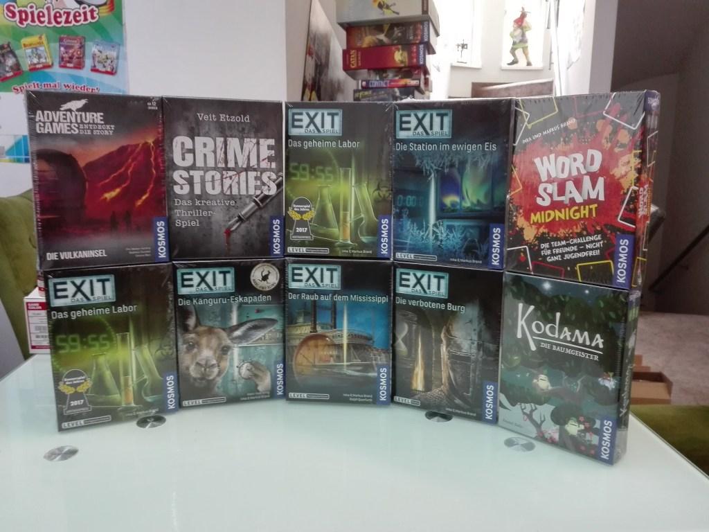 Games, Toys & more Crime Stories Exit Spiele Linz