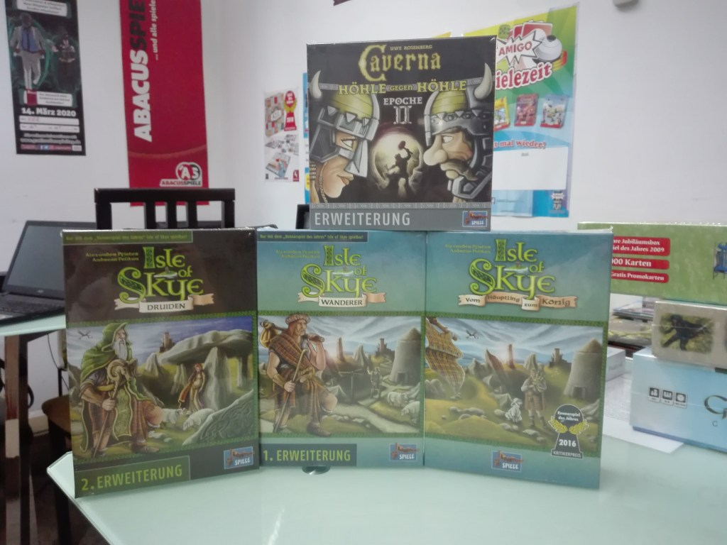Games, Toys & more Angebot Isle of Skye Legespiele Linz