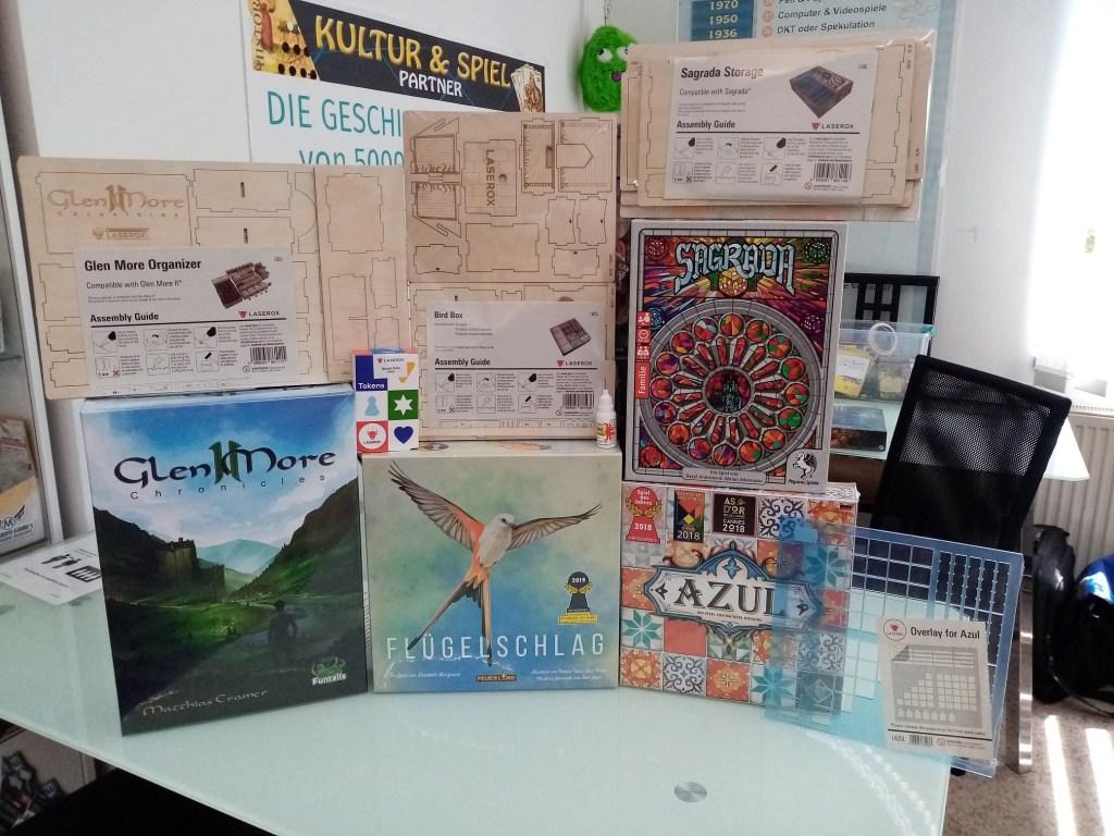 Games, Toys & more Glen More II LaserOx Inlay Linz