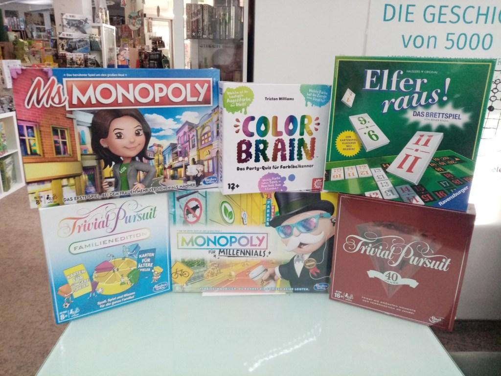 Games, Toys & more Trivial Pursuit 40 Jahre Jubiläumsedition Quizspiele Linz