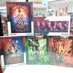 Games, Toys & Stranger Things Puzzles Clementoni Linz