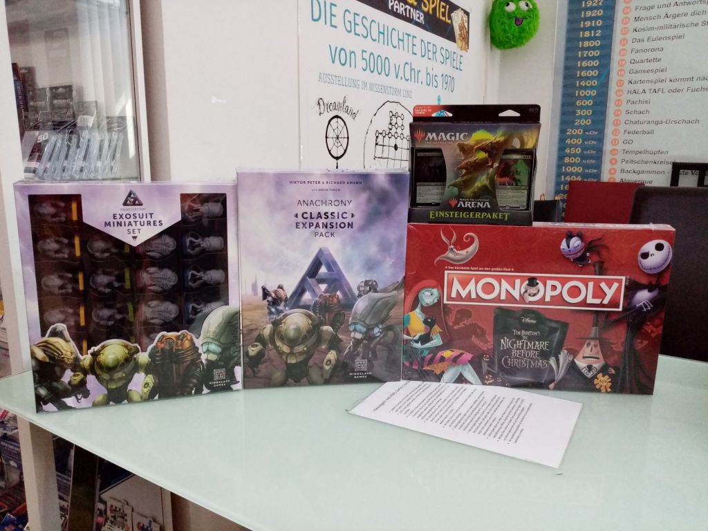 Games, Toys & more Anachrony english board games Linz