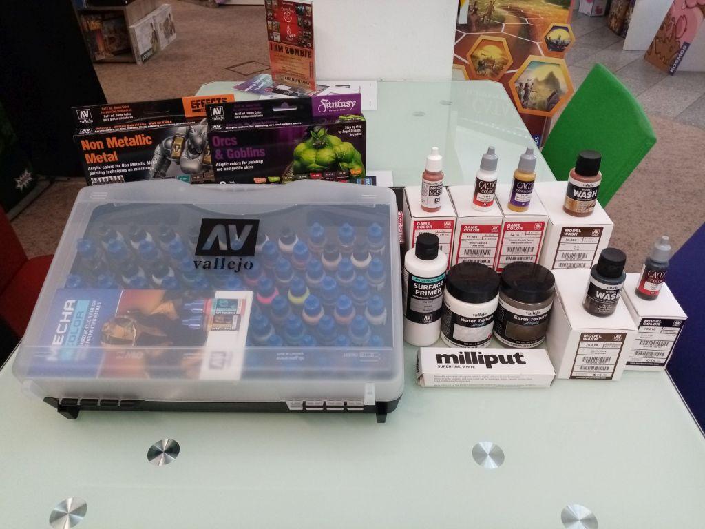 Games, Toys & more Vallejo Farben Miniaturen bemalen Linz