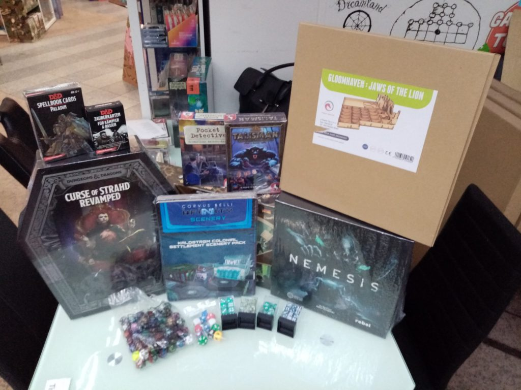 Games, Toys & more Nemesis Board Games in English Linz