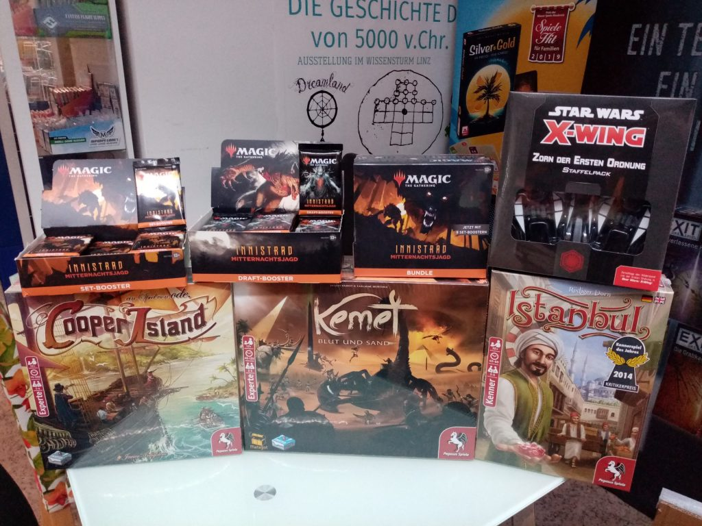 Games, Toys & more Kemet Miniaturenspiel Linz