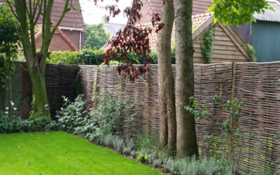 Privacy in uw duurzame tuin!