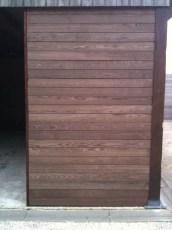 houten wand