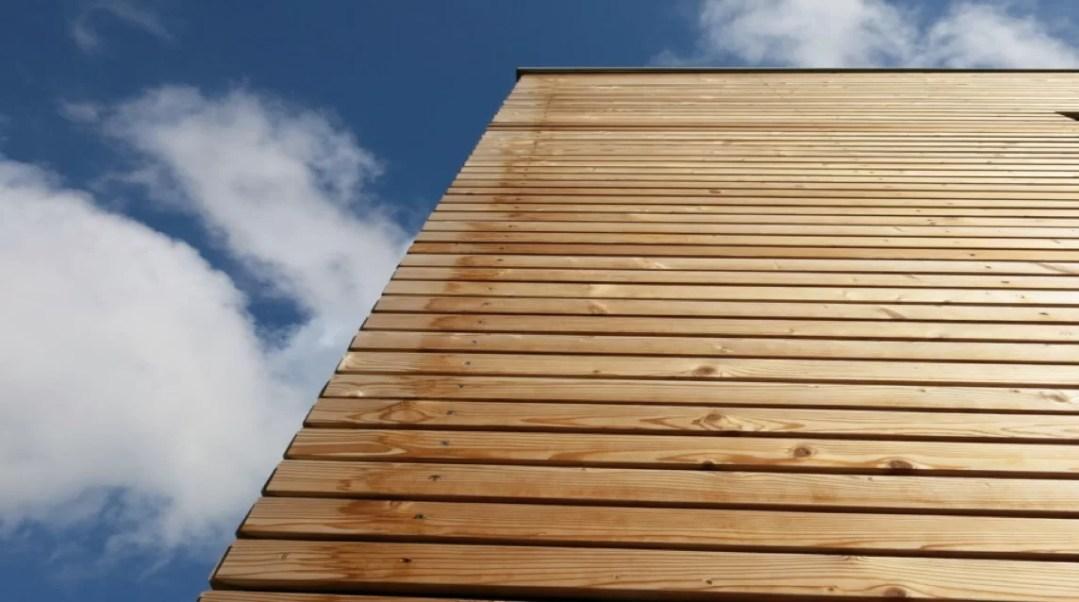 Douglas hout gevelbekleding
