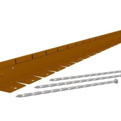 Straightcurve kantopsluiting corten staal 75 mm.