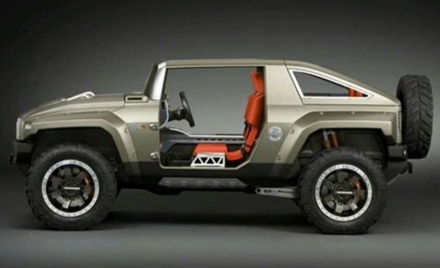 2017 Hummer HX Concept