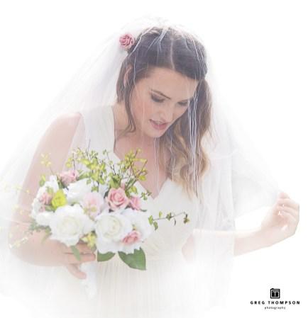 The bride's bouquet of love