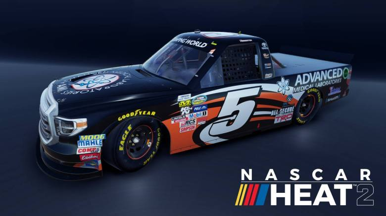 New NASCAR Heat 2 Trailer Gets Truckin' Dirty