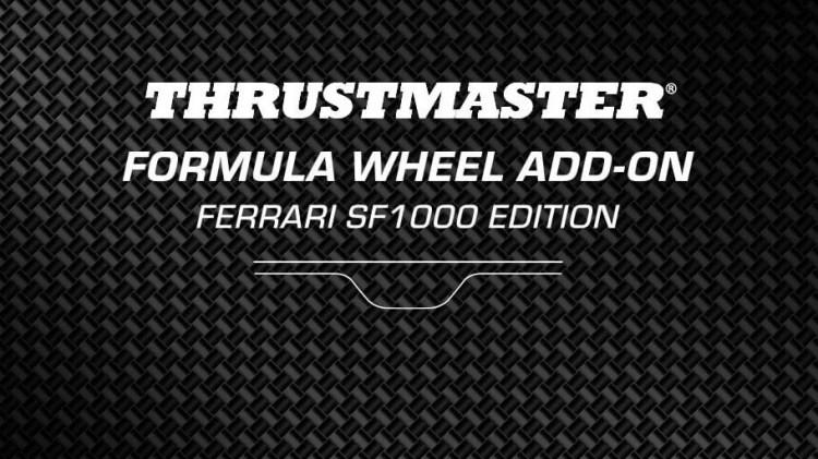 Thrustmaster Ferrari SF1000 Formula Wheel Confirmed for April 20 Reveal